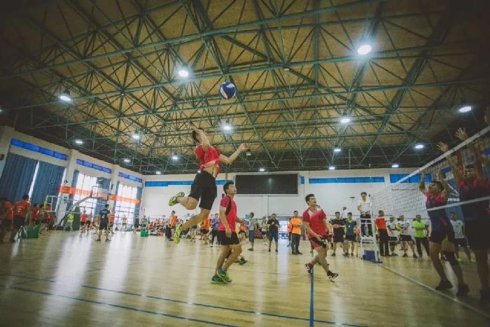 北体大气排球导师培训